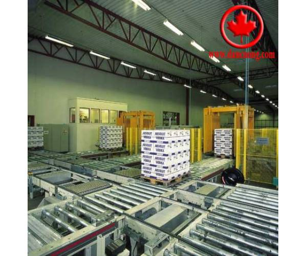 Conveyor systems for pallet